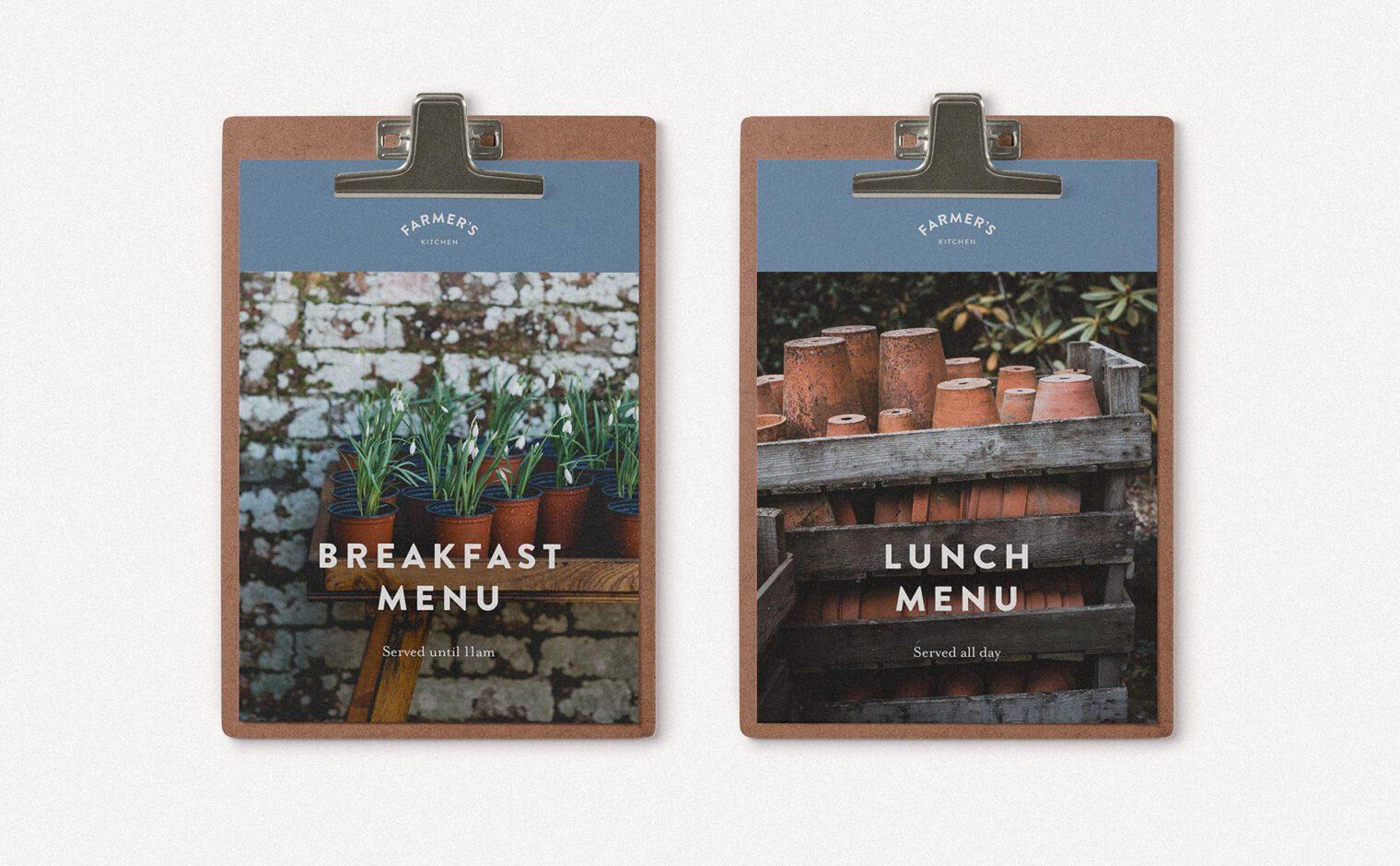 Pinfold Farm Shop - Farmer's Kitchen breakfast and lunch menu
